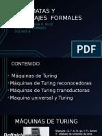 Presentación Maquinas de Turing