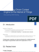 An Ontology-Driven Context Engine for the Internet of Things