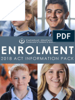 2018 Enrolment Information Pack