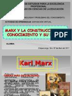 MARX Y LA CONSTRUCCIÓN DEL CONOCIMIENTO.ppt