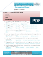 Exam Handouts
