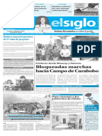 Edición Impresa El Siglo 14-05-2017