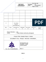 Method Statement for Asphaltic Course