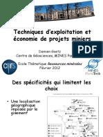 D. Goetz - Techniques dexploitation et economie des projets miniers.pdf