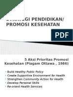 Strategi Pendidikan Kesehatan