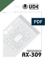 Manual Amplificado UDE 300