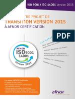 Plaquette Màj-revision Iso 2015