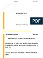 Matricea Bcg