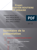 Projet VRD Signalisation Routiere