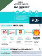 Investment Analysis- Portfolio Evaluation
