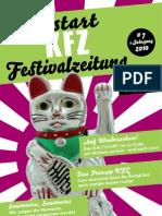 KFZ - Kaltstart-Festivalzeitung / # 07 / 1. Jahrgang