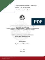 Blanco Juan Estructuras Colegios Reforzamiento Edificaciones