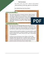 plot summary template