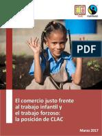 El Comercio Justo Frente Al Trabajo Infantil y El Trabajo Forzoso
