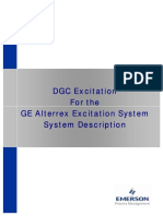 GE Alterrex Excitation System Manual