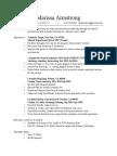 general resume 2017