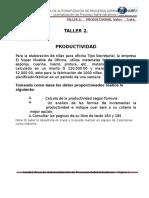 Ug Idea - Taller 2 - Productividad - Apa2