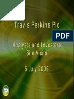 Site Visits 5 July 2005