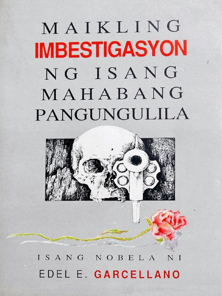 Edel Garcellano - Maikling Imbestigasyon Ng Isang Mahabang