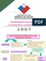 (FINAL) Determinantes Sociales - Un Desafio Etico en Salud Publica