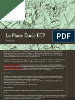 La Phase Etude BTP