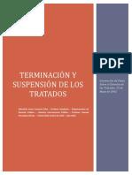 Terminación y Suspensión de Los Tratados