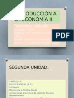 Derecho Económico - Política Fiscal