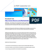 Able Extract PDF Converter 6