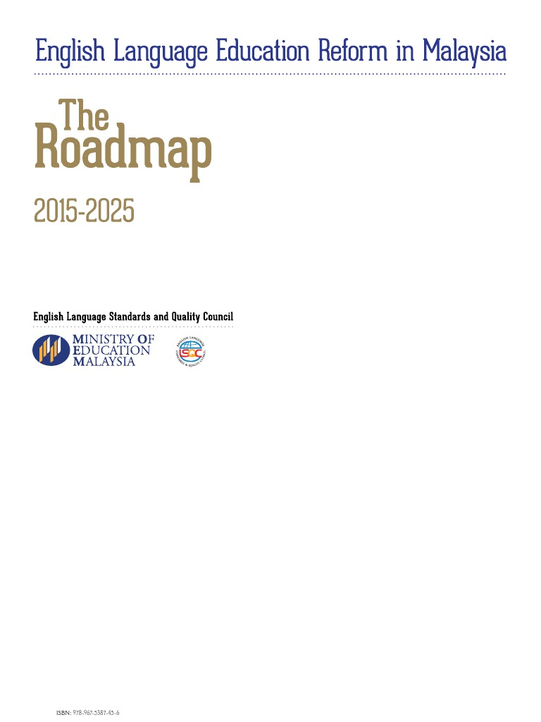 Roadmap education reform language education malvernweather Images