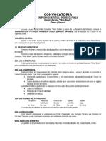 Convocatoria & Reglamento General