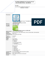 PC Specification