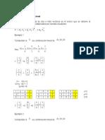 Combinación lineal, Vectores linealmente dependientes y Vectores linealmente independientes.docx