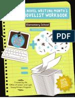 Young Novelist Workbook Elementary