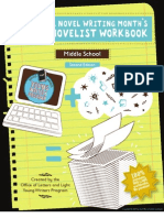 Young Novelist Workbook