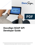 Soap API Guide DocuSign
