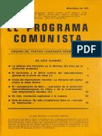 El Programa Comunista 30