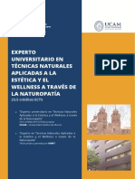 Ucam Titulo Propio Wellness Naturopatia