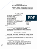 Iloilo City Regulation Ordinance 2008-280