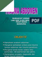 Trauma Abdomen - Dr Nurhayat