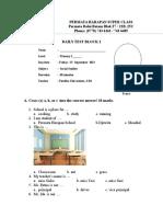 Social Studies Daily Test Block 2