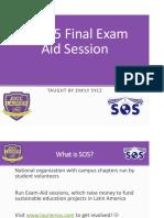 Ops Final SOS