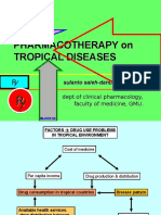 Treatment on Tropical Disease