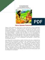 Guru Vyasa Poornima