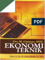 eBook Ekonomi Teknik