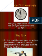 3 Minute Film Analysis
