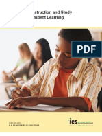 Organizing Instruction and Study to Improve Student Learning
