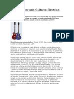 Cómo grabar una Guitarra Eléctrica.doc