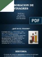 Elaboracion de Vinagres