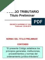 2 Título Preliminar Del Codigo Tributario