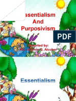 Essentialism and Purposivism